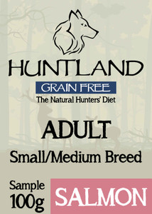 Huntland adult grain free dog food