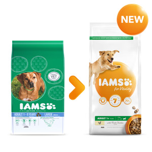 Iams Large Dog Food 12kg Free Delivery Petshop Co Uk