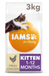 Iams Kitten Chicken Dry Food 3kg