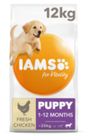 Iams Puppy Large Dog Food 12kg