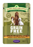 James Wellbeloved grain free pouch