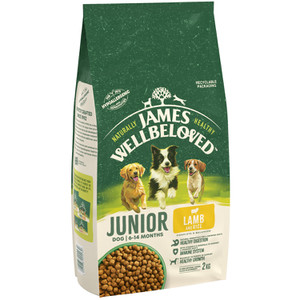 James Wellbeloved Lamb & Rice food