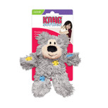 kong cat toy: patchwork bear