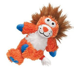kong cross knots lion dog toy M/L