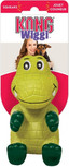 kong wigg alligator large dog toy