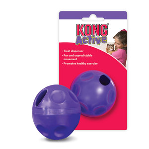kong cat toy: treat ball