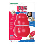 XXL red kong classic dog treat toy
