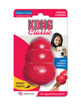 XL red kong classic dog treat toy