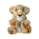 L kong comfort kiddo lion dog toy