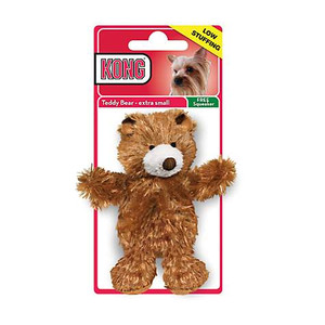 kong plush teddy bear in packaging