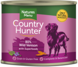 Natures Menu blueberry dog can