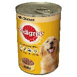 Pedigree Chicken in Jelly Dog Cans