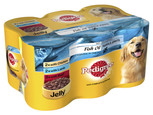 Pedigree Chunks in Jelly cans 6pk