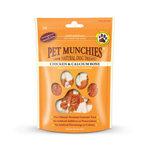 Pet Munchies Chicken & Calcium Bone