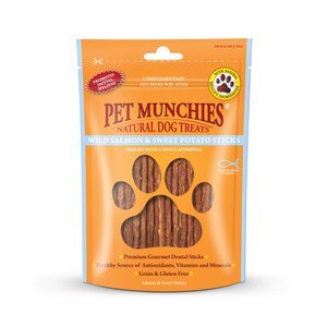 Pet Munchies salmon&potato sticks