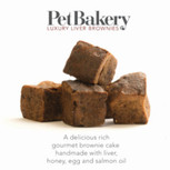 PetBakery Luxury Liver Brownies dog