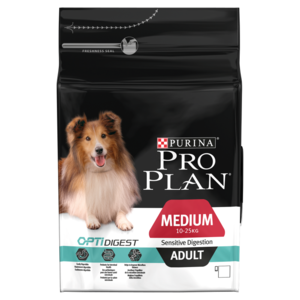 Purina Pro Plan Sensitive Digestion with Optidigest Adult Dry Dog Food - 3kg