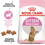 Royal Canin Kitten Sterilised Dry Cat Food - 2kg