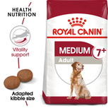 Royal Canin Medium Adult 7+ Dry Dog Food - 15kg