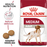 Royal Canin Medium Adult Dry Dog Food - 15kg