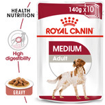 ROYAL CANIN® Medium Adult in gravy