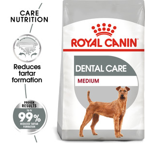 royal canin medium dental care food