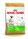 Royal Canin Pug Junior Dry Dog Food - 1.5kg