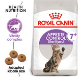 Royal Canin Sterilised Appetite Control 7+ Dry Cat Food - 1.5kg