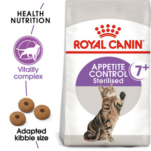 Royal Canin Regular Sterilised Appetite Control 7+ Dry Cat Food - 3.5kg