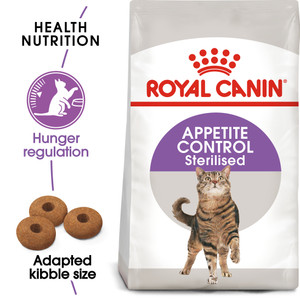 Royal Canin Sterilised Appetite Control Dry Cat Food - 4kg