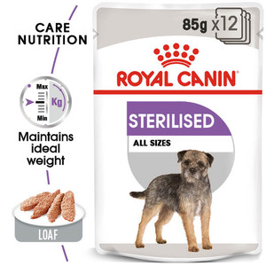 royal canin sterilised wet pouches