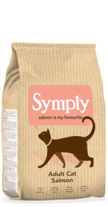 Symply Adult Cat Salmon Dry Food