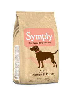 Symply Adult Salmon And Potato Dry Dog Food 12kg