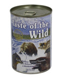 Taste of the Wild salmon dog cans