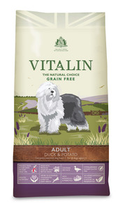 Vitalin Natural Grain Free food