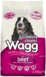 Wagg Moist Meaty Chunks Beef food
