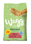 wagg worker beef dry dog food