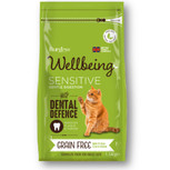 Wellbeing Grain Free Sensitive Dry Cat Food - 1.5kg