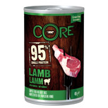 wellness core 95% lamb dog food