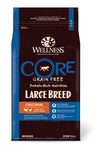 wellness core large breed adult dry