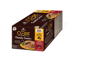 wellness core chunky butcher's food