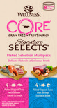 wellness core flaked cat food