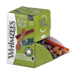 Whimzees Large Dog Chews box