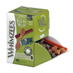 Whimzees Small Dog Chews Box