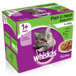 Whiskas Fish & Meat cat pouches