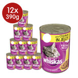 Whiskas Chicken in Jelly Cat cans