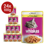 Whiskas Pouches with Chicken Jelly