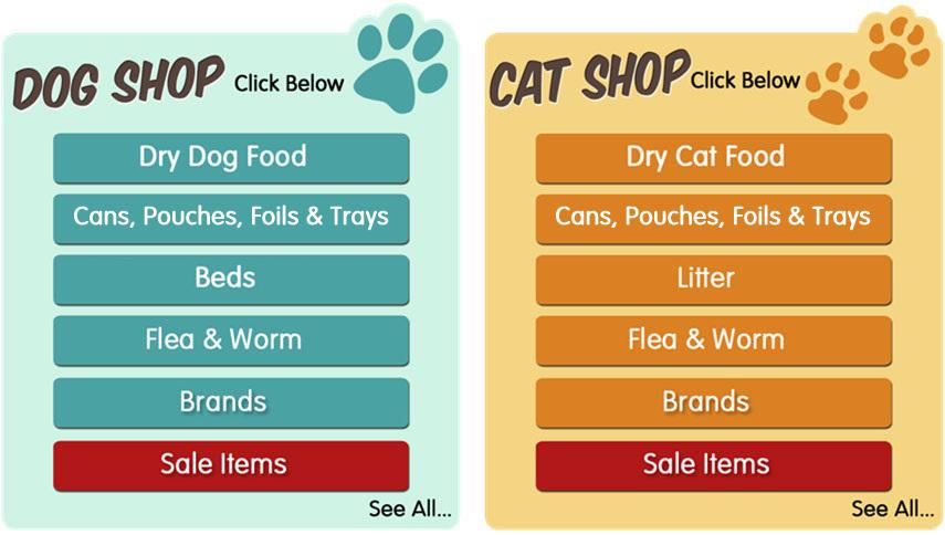 Dog Shop, Cat Shop